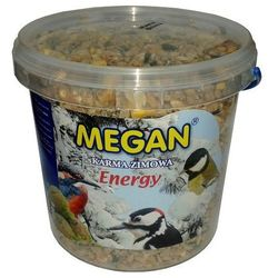 Karma tłuszczowa (energetyczna) dla ptaków 1L [ME49], produkt marki Megan