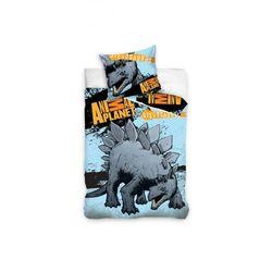 Animal planet stegozaur pościel 160x200 marki Carbotex