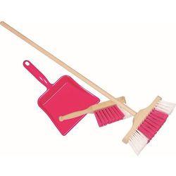Goki Różowy zestaw do sprzątania