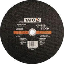 Tarcza do cięcia kamienia 300x3,5x22 mm / YT-5936 / YATO - ZYSKAJ RABAT 30 ZŁ