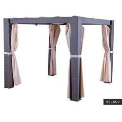 Selsey namiot ogrodowy essara altana ciemny brąz (5903025547831)