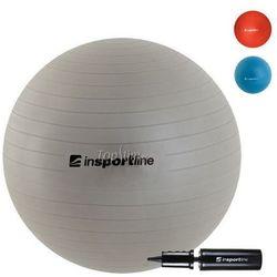 Piłka fitness Top Ball z pompką 85cm Insportline - szary z kategorii Piłki i skakanki