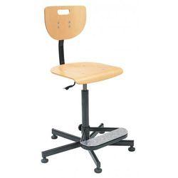 Krzesło specjalistyczne WEREK steel26 + foot base - obrotowe, WEREK steel26 Foot Base