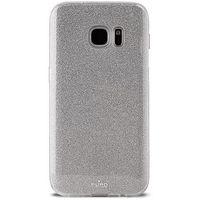 Etui PURO Glitter Shine Cover do Samsung Galaxy S8 Srebrny, kolor szary