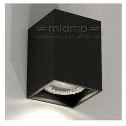 Kinkiet LAMPA ścienna OZU 4401/GU10/CZ Shilo minimalistyczna OPRAWA prostokątna czarny