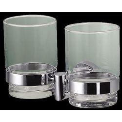 Stella  classic uchwyt ze szklanką podwójny 07412 (5908219750158)
