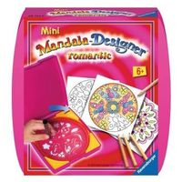 Mini Mandala zestaw do rysowania Romantic 297528 - Ravensburger