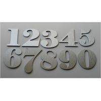 Numer, Numery na Drzwi z aluminium wys. 6,5 cm, 20-01-13