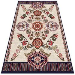 Modny uniwersalny dywan winylowy Modny uniwersalny dywan winylowy Słowacki folklor