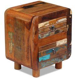 Vidaxl  szafka nocna z drewna odzyskanego 43x33x51 cm