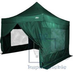 Namiot ogrodowy STILISTA automatyczny 3x3m +4 ściany - zielony