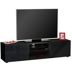 Sciae Stolik pod telewizor urbana, czarny, 160x40 cm - 15si3320