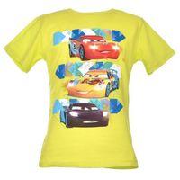 T-shirt z wizerunkiem bohaterów bajki Cars Auta - Zielony ||Kolorowy, kolor zielony