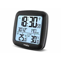 Stacja pogody bezprzewodowa GreenBlue GB542 z systemem DCF kalendarz, alarm (5902211113362)