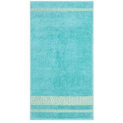Night in colour ręcznik ateny turkus, 50 x 90 cm, 50 x 90 cm marki Night in colours