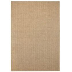 Dywan sizalowy, na zewnątrz i do wewnątrz, 80 x 150 cm, beżowy marki Vidaxl