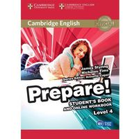 Cambridge English Prepare! 4 Student's Book - Wysyłka od 3,99