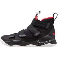 Nike Performance LEBRON SOLDIER XI Obuwie do koszykówki black/white/university red