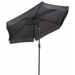 Parasol ogrodowy, skośny, składany, szary, 300 cm marki Modernhome