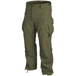 spodnie Helikon SFU PoliCotton Ripstop olive green (SP-SFU-PR-02), materiał bawełna, zielony