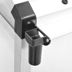 szklarnia z aluminiową ramą, 421x190x195 cm, 15,6 m³ marki Vidaxl