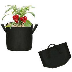 Springos Doniczka materiałowa 6l growbag donica ekologiczna, oddychająca czarna