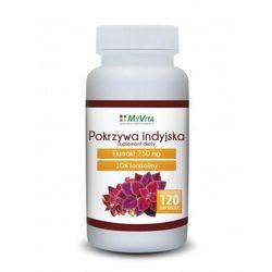 Pokrzywa indyjska forskolina Myvita 120 kapsułek (artykuł z kategorii Tabletki na odchudzanie)