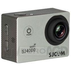 SJCAM SJ4000 WiFi (srebrny) - produkt w magazynie - szybka wysyłka! z kategorii kamery sportowe