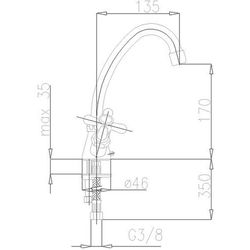KFA RETRO 372-345-00 - produkt z kat. baterie umywalkowe
