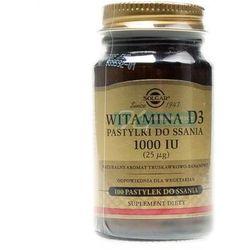 SOLGAR WITAMINA D3 100 PASTYLEK DO SSANIA (lek Witaminyi minerały)
