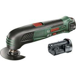 narzędzie wielofunkcyjne 2 akumulatory pmf 10,8 li, marki Bosch