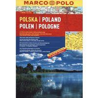 Polska Atlas drogowy 1: 300 000, książka w oprawie broszurowej