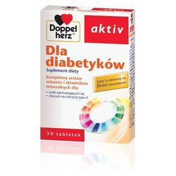 Doppelherz Aktiv dla diabetykow tabl. x 30, postać leku: kapsułki