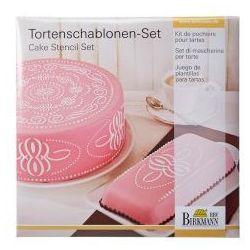 Birkmann Szablony do dekoracji tortów pattern 2 szt.