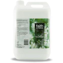 Organiczna odżywka do włosów z drzewa herbacianego, 5 litrów - Faith In Nature - produkt z kategorii- Odżywianie włosów