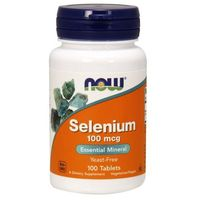 Selen 100mcg 100 tabletek Selenometionina Nowfoods