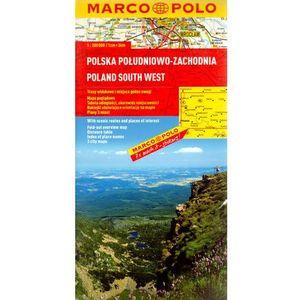 Polska Południowo-Zachodnia. Mapa Marco Polo 1:300 000, Marco Polo