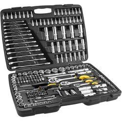 Zestaw kluczy nasadowych TOPEX 38D852 1/2, 3/8, 1/4 cala (219 elementów)