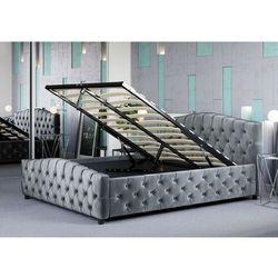 Łóżko tapicerowane do sypialni 140x200 sf892b #64 marki Meblemwm