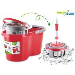 Mop rotacyjny do podłóg GreenBlue GB800 kolor czerwony (5902211102854)