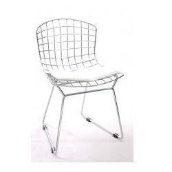 Krzesło dziecięce Harry Junior inspirowane Diamond Junior - biały