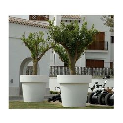 New garden donica magnolia 60 c biała - led