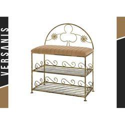 Półka z oparciem trefl z podwójną półką na buty - marki Kapelańczyk