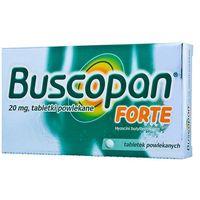 Tabletki Buscopan FORTE tabletki na bóle brzucha napięcie skurcze kolki 10tabl