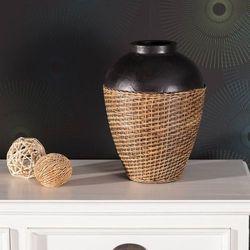 wazon kendi wys. 33cm, 24x24x33cm marki Dekoria