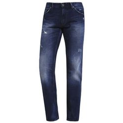 TOM TAILOR DENIM ATWOOD Jeansy Straight leg destroyed mid stone wash, 62047700912