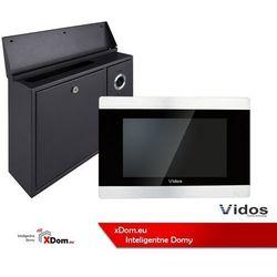 Zestaw skrzynka na listy z wideodomofonem monitor 7 cali.