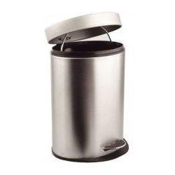 SIMPLE Kosz na śmieci, 12 litrów, owalny 27212 - produkt z kategorii- Pozostałe akcesoria łazienkowe