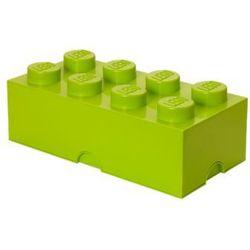 pojemnik na klocki 8 4004, jasnozielony marki Lego