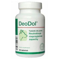 DOLFOS DeoDol preparat dla psów NEUTRALIZACJA NIEPRZYJEMNYCH ZAPACHÓW, 90tabl., kup u jednego z partnerów